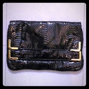Michael Kors snakeleather clutch